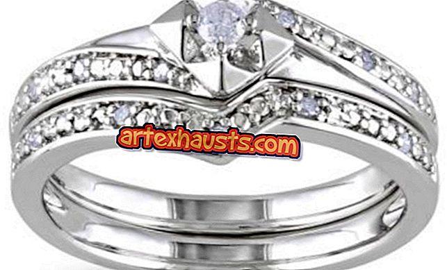 9特別な日のためのシルバーダイヤモンドリングの新しいコレクション